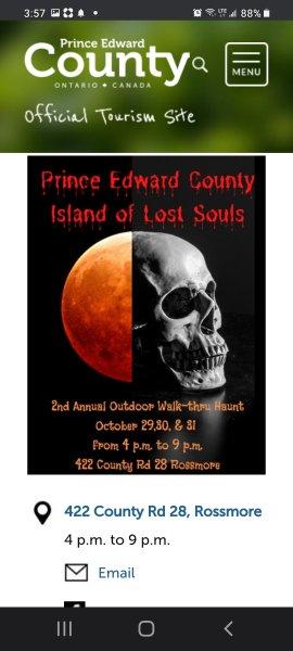 ISLAND OF LOST SOULS WALK THRU HAUNTED YARD IN THE COMMUNITY