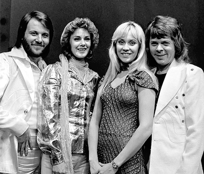 ABBA DRIVE IN CONCERT IN THE COMMUNITY