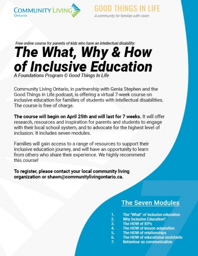 7-Week Course on Inclusive Education