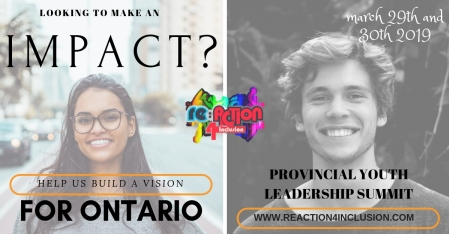 March 29-30: Re:Action4Inclusion Youth Leadership Summit