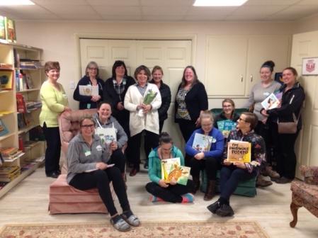 Early Childhood Educators Visit CKR Book Room